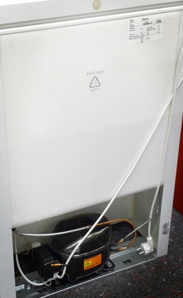 componenti in polipropilene per frigoriferi