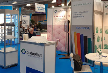 Great participation at the Ondaplast stand at Pharma Pack!