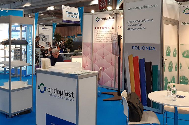 Vasta presenza di pubblico allo stand Ondaplast a Pharma Pack!