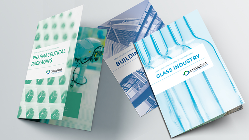 Nuove brochure per i prodotti Ondaplast